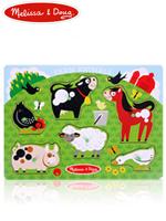 Melissa & Doug Farm Animals 멜리사앤더그 농장동물 페그퍼즐