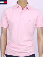 Tommy Hilfiger 타미힐피거 성인용 반팔 PK셔츠 - 핑크