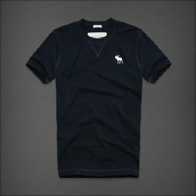 Abercrombie 아베크롬비 남녀공용 반팔 티셔츠 마운틴폰드(Mountain Pond) - 네이비
