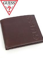 2012년 신상품 Guess 게스 남성반지갑 0228 브라운