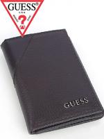 2012년 신상품 Guess 게스 남성 삼단지갑 0231 브라운