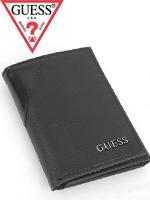 2012년 신상품 Guess 게스 남성 삼단지갑 0231 블랙