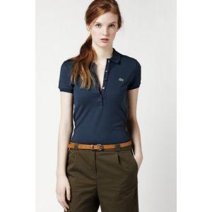 BIG SALE 50%할인 라코스테 여성용 반팔 PK 셔츠 (Lacoste Short Sleeve 5 Button Stretch Pique Polo )