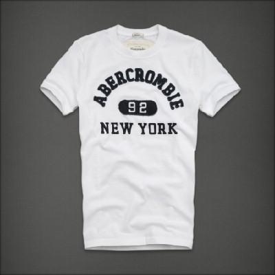 Abercrombie 아베크롬비 남녀공용 반팔 티셔츠 루이마운틴(Lewey Mountain) - 화이트