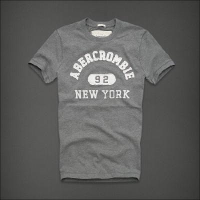 Abercrombie 아베크롬비 남녀공용 반팔 티셔츠 루이마운틴(Lewey Mountain) - 헤더그레이