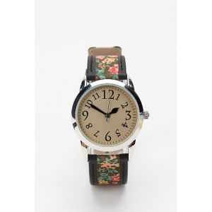 BIG SALE 50%할인 얼반아웃피터스 시계 (Urban Outfitters Ditsy Floral Leather Watch)
