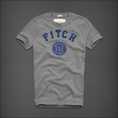 Abercrombie 아베크롬비 남녀공용 반팔 티셔츠 노스사이드트레일(Northside Trail) - 헤더그레이앤블루