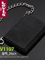 Levis 리바이스 남성 삼단지갑 31LV1107 블랙