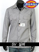 디키즈 긴팔 워크셔츠(Work Shirts) 574 - 진회색 (SV)