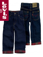 Levi's Kid's 리바이스 키즈 726-676 Faded Dark(페이디드 다크)