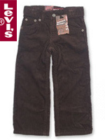 Levi's Kid's 리바이스 키즈 549-432 Brown Cord(브라운 코드)