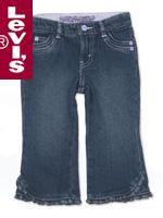 Levi's Kid's 리바이스 키즈 616-252 Slim Straight Jeans(슬림 스트레이트 진)