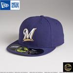 MLB 정품모자 뉴에라 59FIFTY 야구모자-밀워키 브루워스