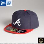 MLB 정품모자 뉴에라 59FIFTY 야구모자-애틀란타 브레이브스(2)