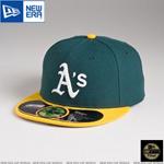 MLB 정품모자 뉴에라 59FIFTY 야구모자-오클랜드 애슬레틱스