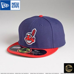 MLB 정품모자 뉴에라 59FIFTY 야구모자-클리블랜드 인디언스