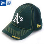 MLB 정품모자 뉴에라 39THIRTY 야구모자-오클랜드 애슬레틱스