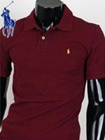 POLO 폴로 보이즈 반팔 PK셔츠 - SP/와인