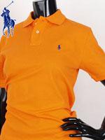 POLO 폴로 보이즈 반팔 PK셔츠 - SP/오렌지