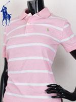 POLO 폴로 보이즈 반팔 PK셔츠 - SP/핑크에스