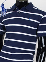 POLO 폴로 보이즈 반팔 PK셔츠 - SP/네이비에스