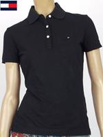 Tommy Hilfiger 타미힐피거 여성용 반팔 PK셔츠 - 블랙CT