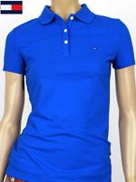 Tommy Hilfiger 타미힐피거 여성용 반팔 PK셔츠 - 블루