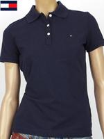 Tommy Hilfiger 타미힐피거 여성용 반팔 PK셔츠 - 네이비CT