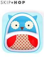 Skip*hop 스킵합 zoo 테이블웨어 이유식기 플레이트 - 부엉이