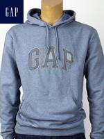 GAP HOODY 갭 후드티 남녀공용 파우더블루 / 슬레이트 패치