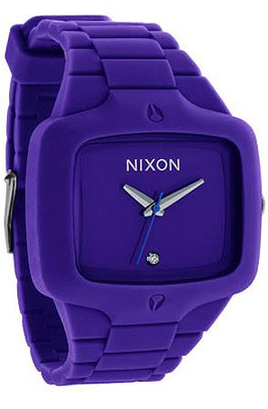 BIG SALE 50%할인 닉슨 시계 (Nixon The Rubber Player Watch in Purple )