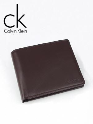 CK 캘빈클라인 남성반지갑 + 키홀더 세트 79349 브라운