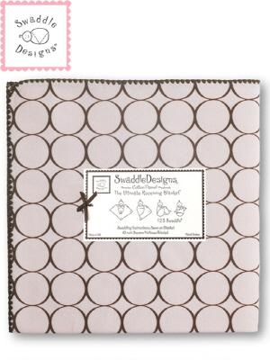 Swaddle Design 스와들디자인 SD 코튼블랭킷 1종 아기 속싸개 - 핑크써클(016PP_SDCB016PP)