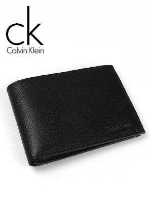 CK 캘빈클라인 남성반지갑 + 키홀더 세트 79350 블랙