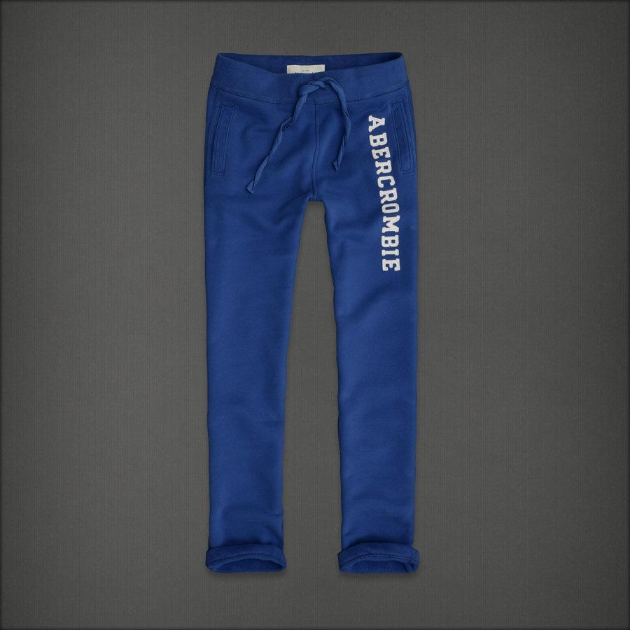 아베크롬비 남성용 클래식팬츠 - 블루