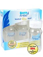 Born free 본프리 유리 젖병 선물용세트 - 160ml(3개입)