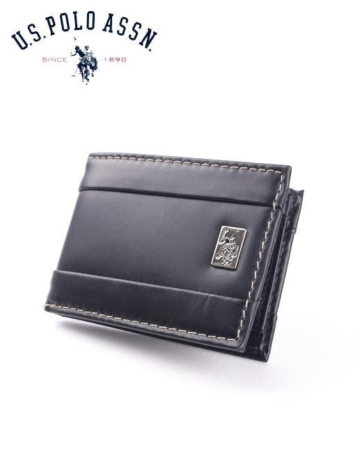 U.S.Polo Assn 유에스폴로 남성반지갑 1760 블랙