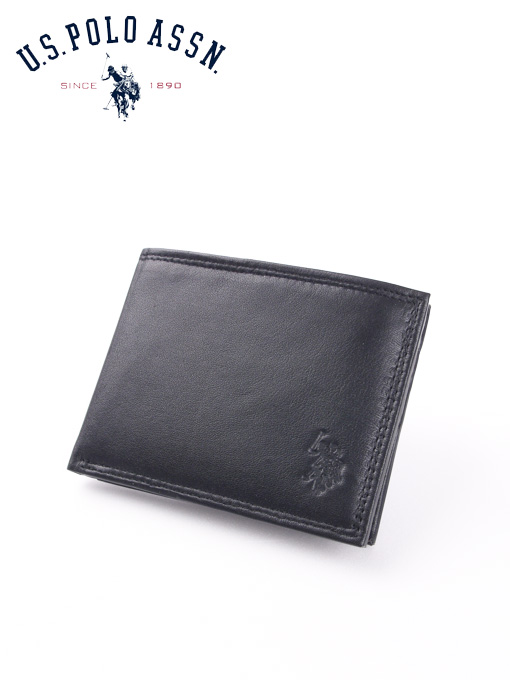 U.S.Polo Assn 유에스폴로 남성반지갑 1860 블랙