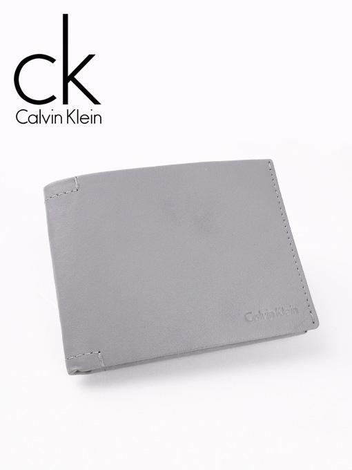 CK 캘빈클라인 남성반지갑 + 키홀더 세트 79410 다크그레이