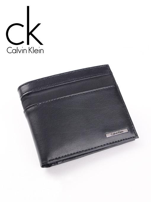 CK 캘빈클라인 남성반지갑 + 키홀더 세트 79416 블랙