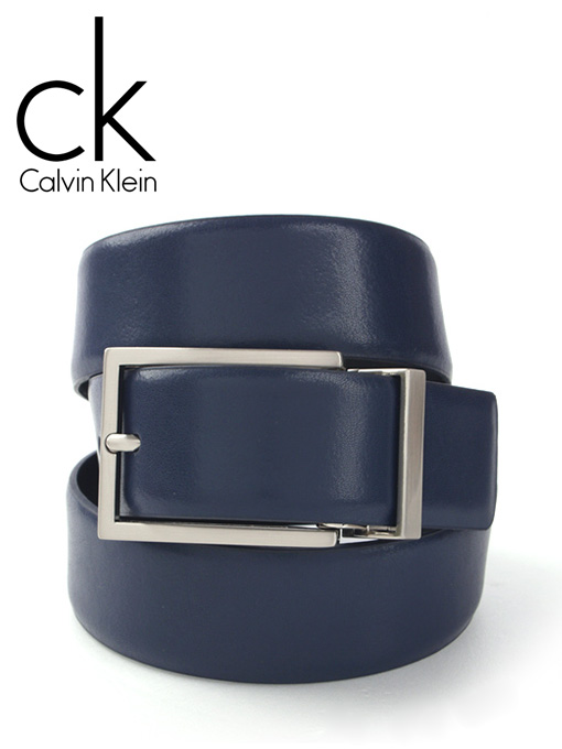 CK 캘빈클라인 남성벨트 73025 네이비/블랙(양면)