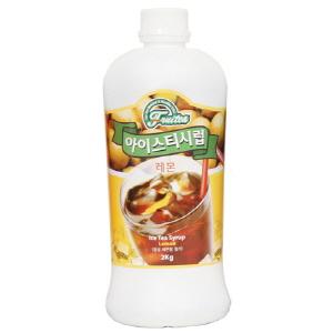 세미 레몬 아이스티 시럽