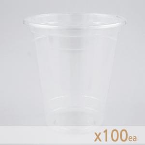ICE 테이크아웃 컵 - 투명 (14온스) 100개