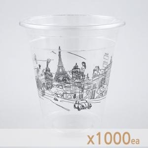 ICE 테이크아웃 컵 - 무늬 (14온스) 1000개