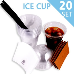 ICE 테이크아웃컵 (14oz) 20set