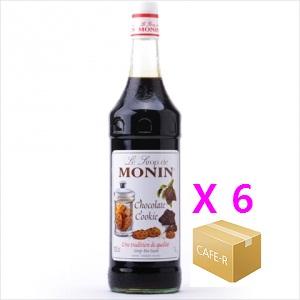 [모닝]쵸코렛 쿠키(Chocolate Cookie) 시럽 1000ml 1박스-6병