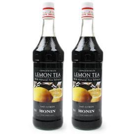 [모닝]레몬티(Lemon Tea) 시럽 1000ml 2병
