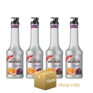 [모닝] 패션 후르츠 퓨레/스무디 1000ml x 1박스 4개