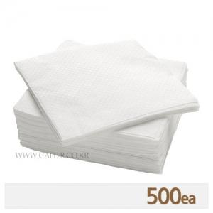 무지 냅킨 - 화이트 (500매)