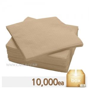 무지 냅킨 - 브라운 1box (10,000매)